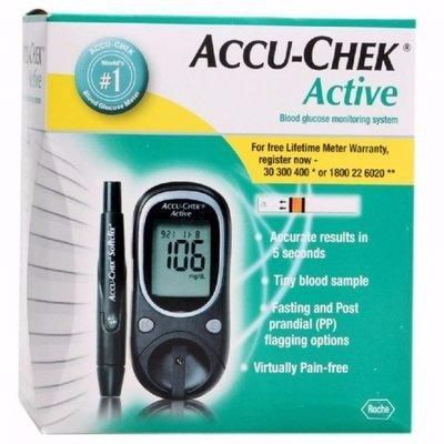 ACCU-CHEK ACTIVE BLOOD GLUCOSE MONITOR